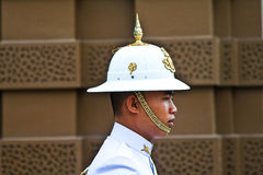 Parade of the kings Guards in the Grand Palace Stock Photography