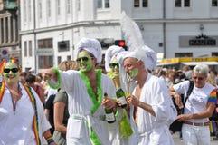 Parade in Kopenhagen Royalty-vrije Stock Afbeelding