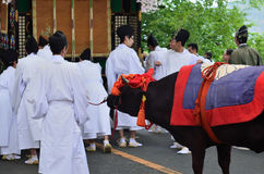 The parade of Kyoto Aoi festival, Japan Stock Image