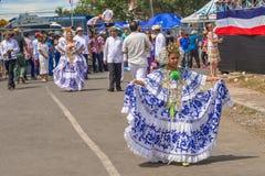 Parade in La Villa in Panama Stock Photos