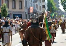 Parade Legnano Royalty-vrije Stock Afbeelding