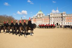Parade in London Royalty Free Stock Image