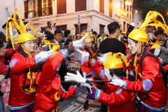 Parade through Macao, Latin City 2012 Stock Image
