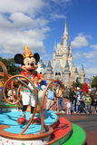 Parade in Magic Kingdom castle in Disney World in Orlando Royalty Free Stock Photo