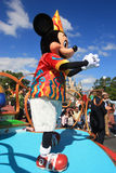 Parade in Magic Kingdom castle in Disney World in Orlando Stock Photos
