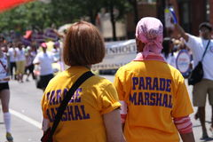 Parade marshals Royalty Free Stock Photography