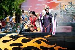 Parade met Kwade Koningin Stock Fotografie