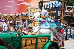 Parade mit Gänseblümchen-Ente Lizenzfreie Stockfotos