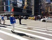Parade in New York City, NYC, NY, USA Stock Photos