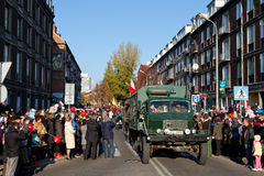 Parade on the occasion of the Independence Day Stock Photo