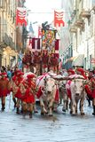 Parade during the Palio stock photos