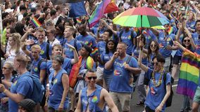 London Pride 2019 stock video footage