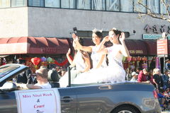 Parade Princesses Royalty Free Stock Photography