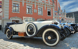 Parade Rolls Royce. Royalty Free Stock Images