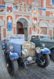 Parade Rolls Royce. Stock Images