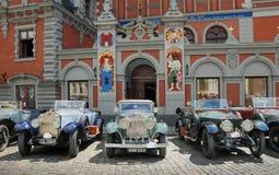 Parade Rolls Royce. Royalty Free Stock Image