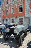Parade Rolls Royce. Stock Photo