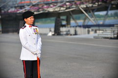 Parade RSM MWO Jennifer Tan Royalty Free Stock Photos