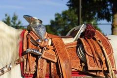 Parade Saddle Royalty Free Stock Image