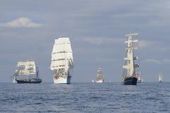 Parade of sail Stock Photos
