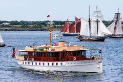 Parade of Sail, Newport, RI. Royalty Free Stock Image