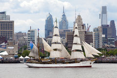 Parade of Sails Royalty Free Stock Images