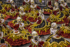 Parade of Samba School 2013 - Sao Paulo Stock Photography