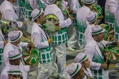 Parade of Samba School 2013 - Sao Paulo Royalty Free Stock Images