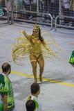 Parade of Samba School 2013 - Sao Paulo Royalty Free Stock Photo