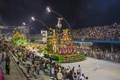 Parade of Samba School 2013 - Sao Paulo Royalty Free Stock Photography