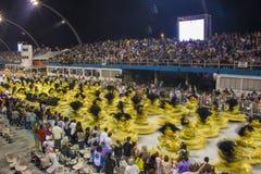 Parade of Samba School 2013 - Sao Paulo Stock Image