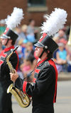 Parade Saxophone Player Stock Photos
