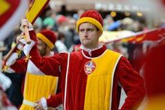 Parade, Siena Royalty Free Stock Photos