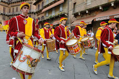 Parade, Siena Stock Photos