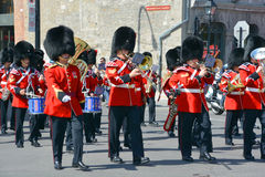 Parade of soldier Royalty Free Stock Photos