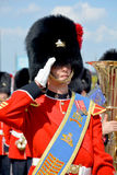 Parade of soldier of the Royal 22nd Regiment Royalty Free Stock Photo