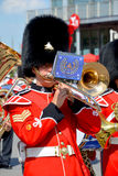 Parade of soldier of the Royal 22nd Regiment Royalty Free Stock Image