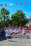 Parade, Sonderborg, Denemarken (2) stock afbeeldingen