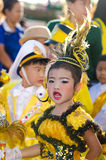 Parade for sporting day. Royalty Free Stock Image