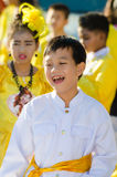 Parade for sporting day. Royalty Free Stock Images