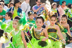 Parade for sporting day. Stock Photos