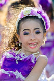 Parade for sporting day. Royalty Free Stock Photos
