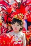 Parade for sporting day. SINGBURI - NOVEMBER 27 : Parade for sporting day of The Anuban Singburi School on November 27, 2015 at Singburi, Thailand Royalty Free Stock Photo