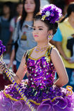 Parade for sporting day. Royalty Free Stock Photo