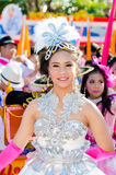 Parade for sporting day. Royalty Free Stock Photography