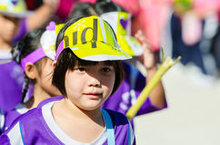 Parade for sporting day. Stock Images
