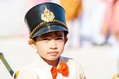 Parade for sporting day. SINGBURI - NOVEMBER 27 : Parade for sporting day of The Anuban Singburi School on November 27, 2015 at Singburi, Thailand Stock Photo