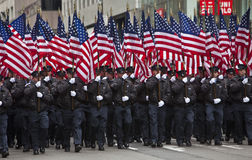 Parade St. Patricks Lizenzfreie Stockfotos