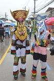 Parade Thailand traditional ghost festival Stock Photography