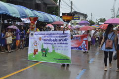 Parade Thailand traditional ghost festival Stock Photo
